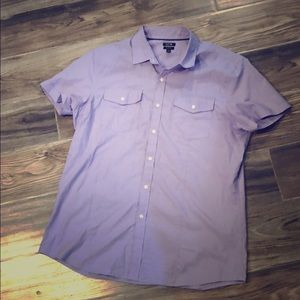 Apt. 9 Casual Buttoned Shirt in Light Purple